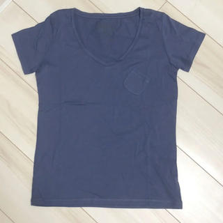 シップスフォーウィメン(SHIPS for women)のSHIPS レディースTシャツ ブルー(Tシャツ(半袖/袖なし))