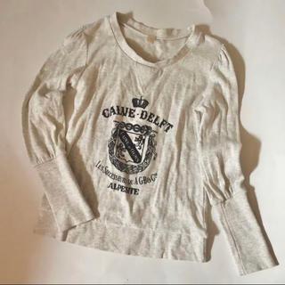 アクータ(Acuta)のACUTA 長袖カットソー パフスリーブ 王冠 刺繍(Tシャツ(長袖/七分))