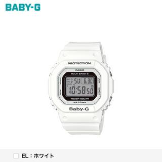 ベビージー(Baby-G)のG-SHOCK BABY-G 3432Ꮲ*JA ホワイト(腕時計(デジタル))