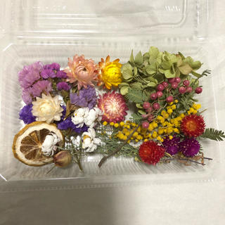 花材詰め合わせセット(ドライフラワー)
