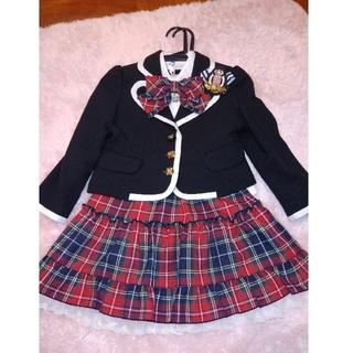 エル(ELLE)のELLE 子供服 女の子 フォーマル スーツ 入学式ピアノ発表会 値下げしました(ドレス/フォーマル)