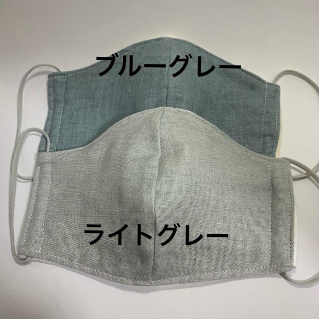 手作りマスク フィルターシート付タイプ グレーセットの通販