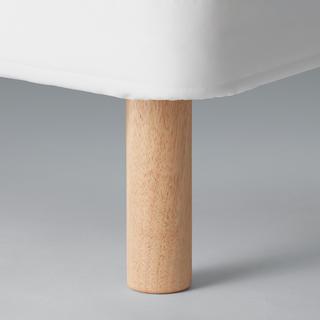 ムジルシリョウヒン(MUJI (無印良品))のMUJI 無印良品 マットレス用脚 20cm  (脚付きマットレスベッド)
