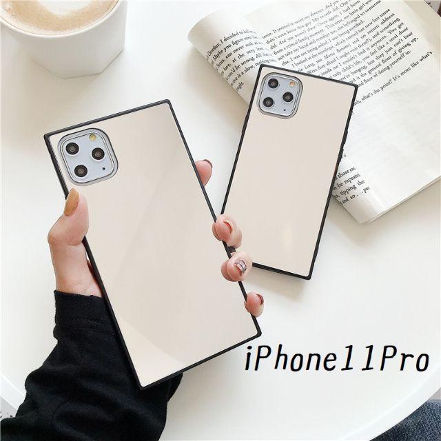 supreme iPhone 11 ケース 人気 、 大人気!iPhone11Pro スクエア型 ケース カバー ミラーの通販 by すわりん's shop|ラクマ