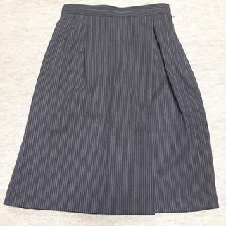 新品 5号 オフィスラップキュロットスカート OL制服 事務服(キュロット)