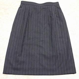 新品 7号 オフィススカート 事務服 OL制服(ひざ丈スカート)