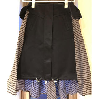 サカイ(sacai)のsacai サカイ  スカート 美品(ひざ丈スカート)