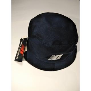 ニューバランス(New Balance)の帽子 ニューバランス 紺色 50cm 綿100% 新品未使用(帽子)
