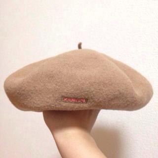 アースミュージックアンドエコロジー(earth music & ecology)の【最終値下】earth m&e♡ベレー帽(ハンチング/ベレー帽)