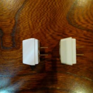 パナソニック(Panasonic)の電源3つ口タップ❤2個❤送料込み❤(変圧器/アダプター)