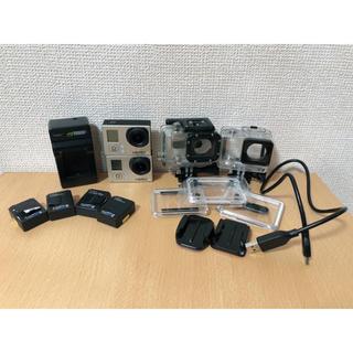ゴープロ(GoPro)のGopro HERO3 2個 付属品セット(コンパクトデジタルカメラ)