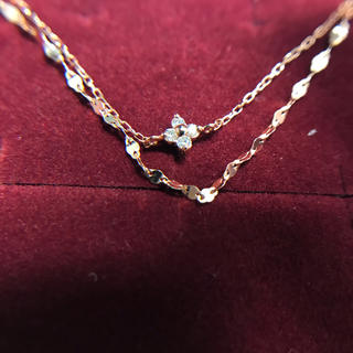クミキョク(kumikyoku(組曲))の組曲ジュエリー ダイヤモンド 10金ピンクゴールド ブレスレット(ブレスレット/バングル)