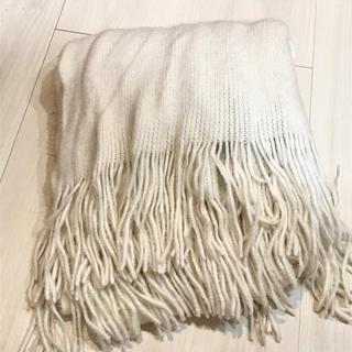 MERCURYDUO - 【美品】マーキュリーデュオ ホワイトマフラー