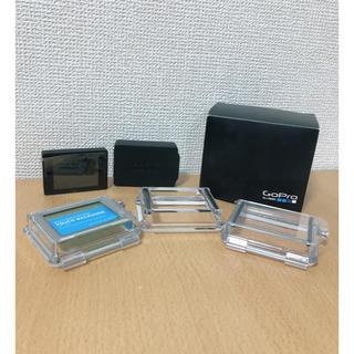 ゴープロ(GoPro)のgopro HERO3/4 モニター ケースオプション付(コンパクトデジタルカメラ)