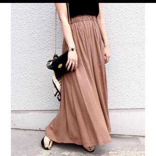 カージュ(Khaju)のカージュ リラックスマキシスカート 19SS 新品未使用品(ロングスカート)