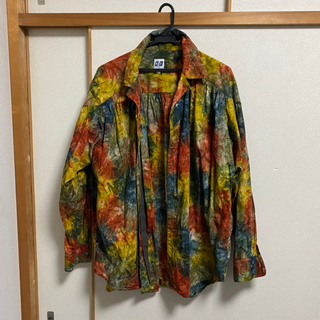ニードルス(Needles)のaie painter shirts abstract print multi (シャツ)
