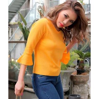 ANAP Latina - 新品 アナップラティーナ スリーブ5分袖トップス カットソー Tシャツ