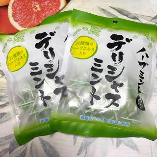 11◇デリシャス ミント キャンディー 2袋(菓子/デザート)