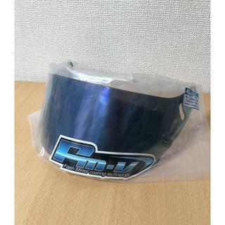 Arai アライヘルメット CK-6 新品ブルーミラーバイザー (ヘルメット/シールド)