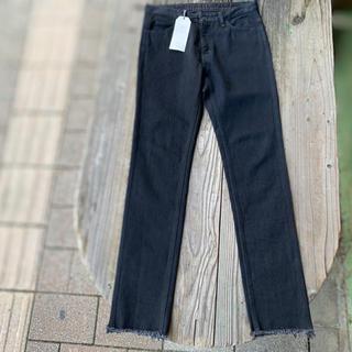 アンユーズド(UNUSED)のUNUSED cutoff black pants (デニム/ジーンズ)