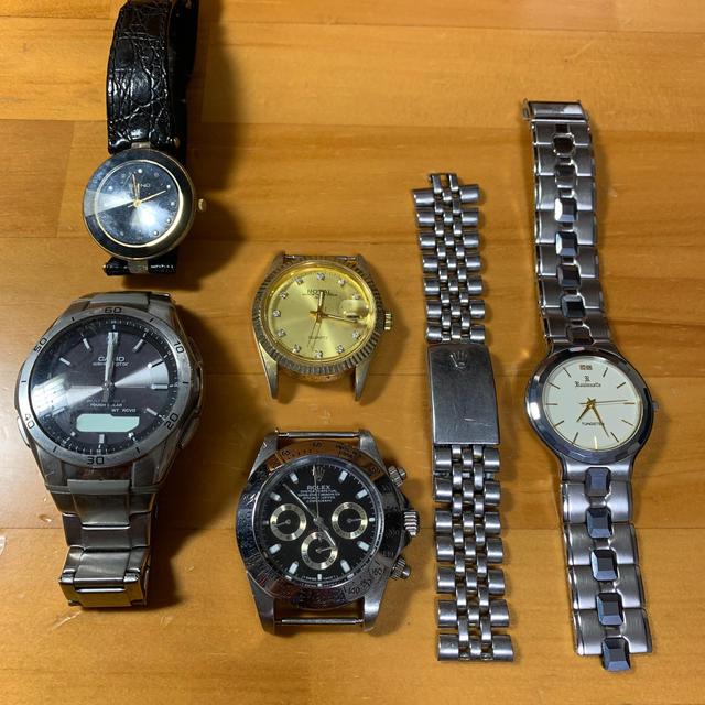 ROLEX - 時計 ジャンク まとめ売り おまけ付きの通販