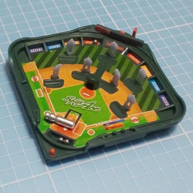EPOCH(エポック)のカプセルトイ「野球盤 スプリットエース」ミニチュア エンタメ/ホビーのフィギュア(その他)の商品写真