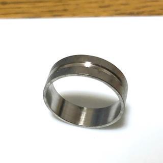 ステンレス指輪シルバー一本ライン(リング(指輪))