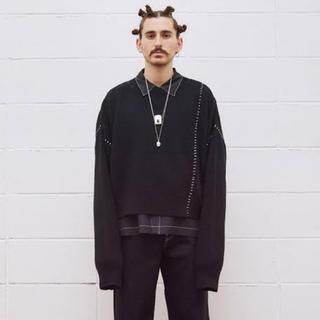 UNUSED - UNUSED Crew Neck Knit サイズ2