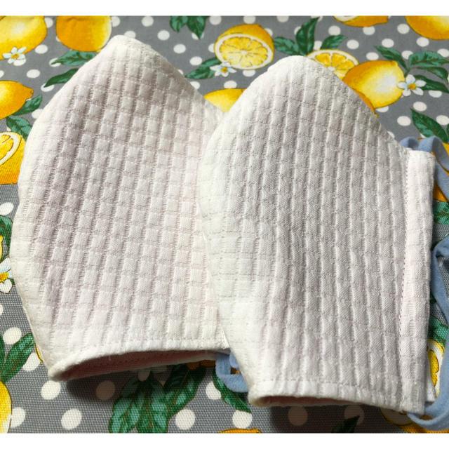 マスク ボンデージ / 布マスク 2枚セット ハンドメイド 立体マスクの通販