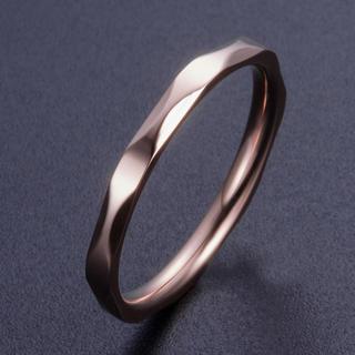 カットリング ステンレスリング ステンレス指輪 ピンキーリング(リング(指輪))