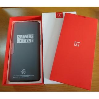 アンドロイド(ANDROID)の(開封品未使用)中国版 OnePlus 7 Pro GM1910 Gray(スマートフォン本体)
