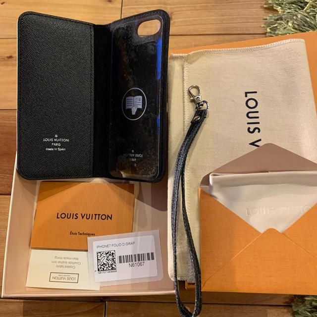 gucci アイフォーン8 カバー 安い | LOUIS VUITTON - ルイヴィトンスマホケースの通販