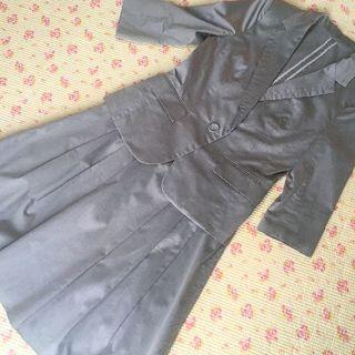 アールユー(RU)のアールユー スカートスーツ 2 W66 サマー 夏 洗濯可 OL(スーツ)