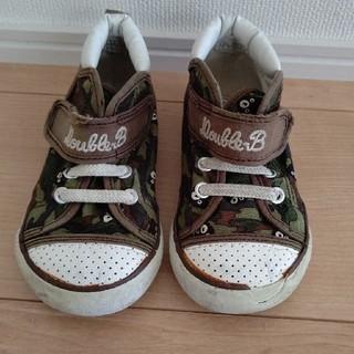 ダブルビー(DOUBLE.B)のダブルビー  靴 15cm(スニーカー)