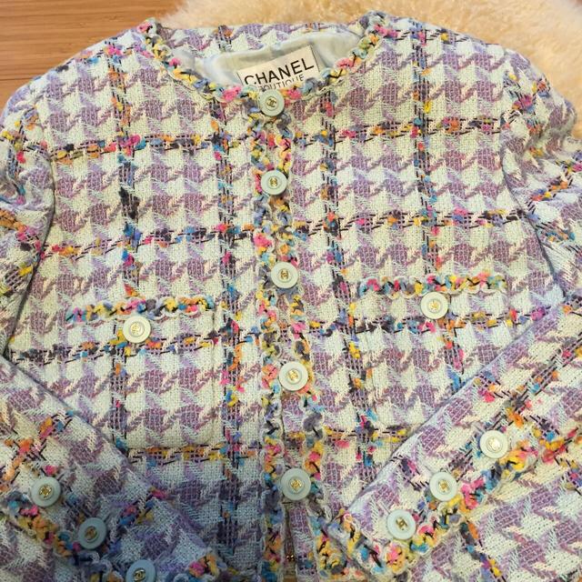 CHANEL(シャネル)のシャネルココマークワンピーススーツ36 レディースのジャケット/アウター(テーラードジャケット)の商品写真