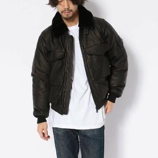 アヴィレックス(AVIREX)のアヴィレックス ハイランドラムウェップジャケット 新品未使用 サイズXLブラック(レザージャケット)