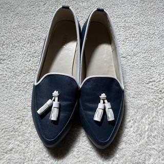 ハコ(haco!)のタッセルローファー 23cm haco!(ローファー/革靴)
