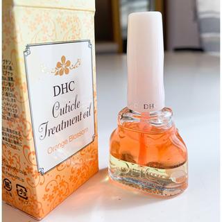 ディーエイチシー(DHC)の【新品未使用】DHCキューティクルトリートメントオイル オレンジブロッサム(ネイルケア)