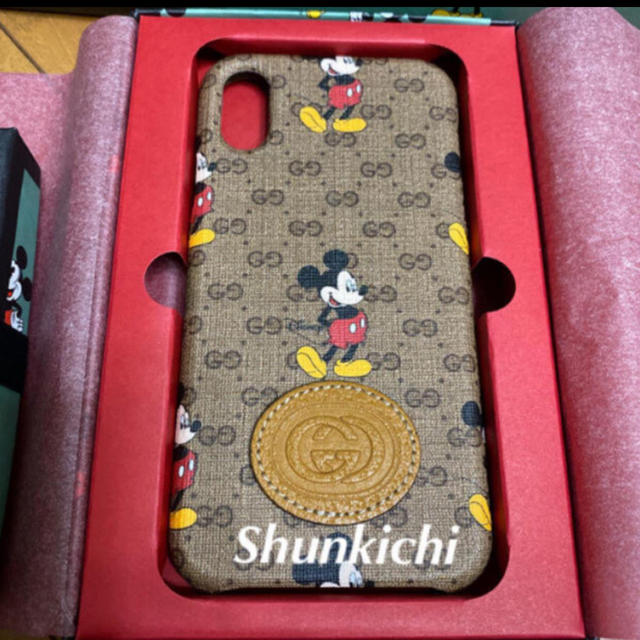 Gucci - GUCCI グッチ 新品 正規店限定 ミッキー iPhoneケース 新品未使用の通販