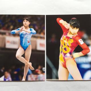 杉原愛子 女子体操 写真20枚 レオタード 巨乳 爆乳 (写真)