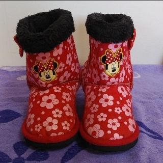 ディズニー(Disney)のDisneyミニちゃんキッズブーツ17センチ(ブーツ)