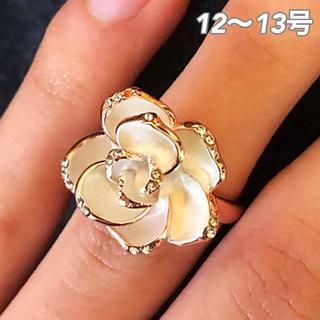 ★定価9800円★ 【SWAROVSKI】『聖典の薔薇』ジェム クリスタルリング(リング(指輪))