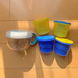 アカチャンホンポ(アカチャンホンポ)のoxo tot フリッピー スナックカップ 離乳食 プラカップ(離乳食器セット)