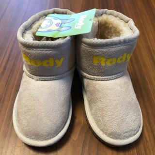 Rody - Rody ロディ ムートンブーツ☆14センチ ベージュ☆新品未使用品☆即購入可能