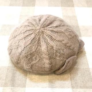 ロペピクニック(Rope' Picnic)のロペピクニック ベレー帽(リボン付)(ハンチング/ベレー帽)