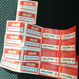 ジャル(ニホンコウクウ)(JAL(日本航空))のJALリゾートクーポン 26枚(スキー場)