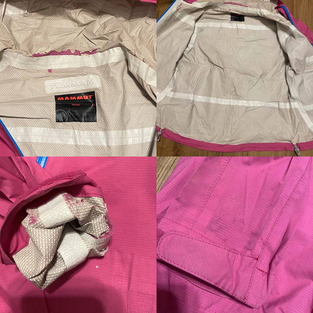 Mammut(マムート)の☆MAMMUT マムート ドライテック コンパクト ジャケット マウンテン レディースのジャケット/アウター(ナイロンジャケット)の商品写真