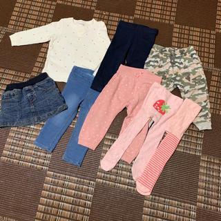 H&M - 【美品】ベビー服 85★女の子★NEXT★H&M★タイツ★レギンス★8点セット