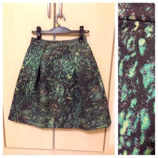 ダブルスタンダードクロージング(DOUBLE STANDARD CLOTHING)のダブスダ ソブのスカート(ひざ丈ワンピース)