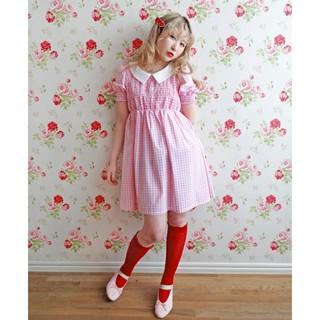 ケイティー(Katie)のKatie ケイティ NOBODY'S DAUGHTER baby dress(ひざ丈ワンピース)
